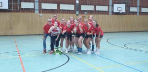 2. Platz Damenturnier ab Landesliga: HSG Wesertal