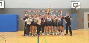 1. Platz Regionsturnier Damen: HSG Zwehren/Kassel